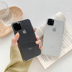 【オーダー商品】Simple transparent ihone case