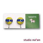 ■NAGOYA-12   イヤリング。まる。〜ピアス変更可〜