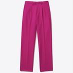 Single-Pleat Trouser(Hot Pink)