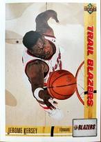 NBAカード 91-92UPPERDECK Jerome Kersey #277 TRAILBLAZERS