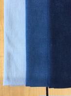 藍染 晒布