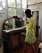 Long Robe Mosaic Neon ロングローブモザイクネオン