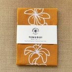 手ぬぐい PLUMERIA LEI(金茶)