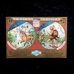 双子座と蟹座のカード