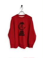 "Original Sweatshirt  / ""koike san"" / red"