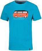 La Sportiva スポルティバ メンズ  Van T-shirt H47614614 Tropic Blue Sサイズ