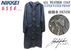 ALL WEATHER COAT 超撥水デニム / AKCT-001-BLUE INDIGO