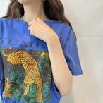 アニマルプリントTシャツ(elie)