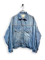 6.5oz Denim Western Short Jacket / special wash