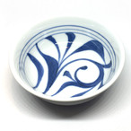 【砥部焼/梅山窯】鍋小鉢(一つ唐草)