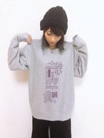 【WEAR】Plug-in 0 for ∀ Big size Sweatshirt