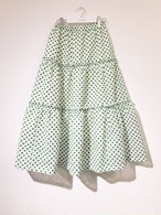 Embroidery Skirt (Green)
