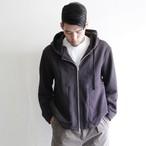LA MOND【 mens 】zip foodie jacket
