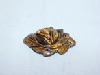 虎目石薔薇の帯留 tiger eye stone obi sash clip(flower)