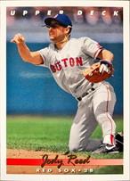 MLBカード 93UPPERDECK Jody Reed #096 RED SOX