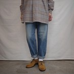 LENO(リノ) LUCY HIGH WAIST TAPERED JEANS FADE