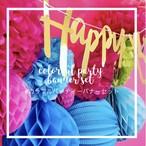【12点セット】カラフルパーティバナーセット誕生日 お祝い プレゼント 飾り