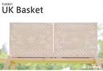 Cridas(クリダス) UK Basket UKバスケット TUKB01 コンテナボックス ヒノキ 国産木材 スタッキング アウトドア 用品 キャンプ グッズ