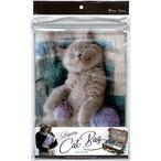 猫ジップバッグ(B5お昼寝ジップBAG)ココ