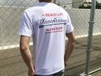 THE BEACH LIFE Tシャツ(white)