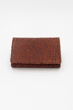 Item No.0307: Card Case / American Bison《Brown》