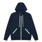 Zip Hoodie(Evening Blue)