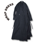 Wrap dress [Black]