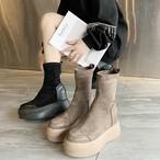 【shoes】切り替えカジュアル合わせやすいブーツ24030146