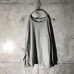 [Champion] zipper long T-shirt