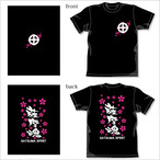 [BIGTシャツ] 薩摩魂・桜吹雪(XXLサイズ)