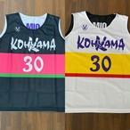 【デザインサンプル】高山ミニバスケットボールスポーツ少年団(U12・女子)リバーシブルシャツ