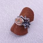 【石花の指輪】カンテラオパール
