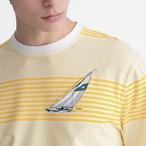 Horizon Knit Top(Yellow Stripe)