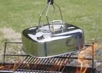 belmont ベルモント BM-293 ファイヤー スクエア ケトル1.6L アウトドア キャンプ 用品 ソロキャン 薬缶 やかん 焚き火 湯沸かし 少人数用 コンパクト おしゃれ