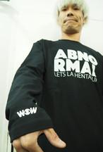 WOW ABNORMAL ロンT ブラック(送料込み)