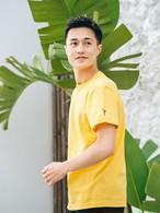 【7/7(WED)20:00 販売開始】Side Aloha Patch S/S TEE (yellow)