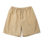 "Just Right ""AOB Shorts"" Beige"