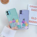 流れる Flower iphone case