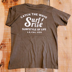CatchTheWave Tee - Charcoal