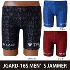 TYR×GUARD メンズ水着 ジャマー ハーフパンツ  ロゴ総柄 jgard-16s 競泳 ブランド トライアスロン レスキュー