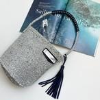 [ 限定即納 ] Eco shoulder Kago Bag / silver mix color