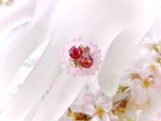 Sakura Baby Ring┊Pink ruby