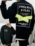 パラドックスプリントMTM ★UNISEX MTM  トレーナー 韓国ファッション
