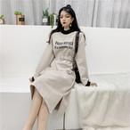 【dress】ピタッとしたシルエット上級者チックなスタイルワンピース 24465610