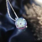 小さなキレイかわいい花のペンダント20201110/【フローラ】[わけあり品]