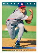 MLBカード 93UPPERDECK Steve Olin #206 INDIANS