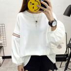 【tops】ランタンスリーブゆるっと感じ3色好感度アップTシャツ 23116486