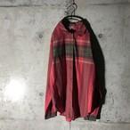 [used] dark green bordered shirt