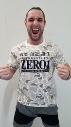 ZERO1 ロゴTシャツ カモフラ