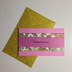 和紙のお祝いカード(Congratulations005)